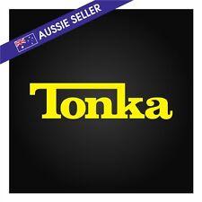 Tonka Sticker Decal 200mm Suit Landcruiser Hilux Patrol Rodeo BT50 Ranger Jeep