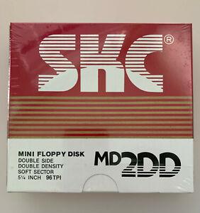 SKC Disketten 5,25'' Floppy Disk MD 2DD 10 Stk. NEU, OVP