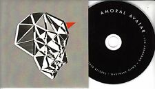 AMORAL AVATAR Amoral Avatar 2016 UK 18-trk promo test CD Leo Abrahams