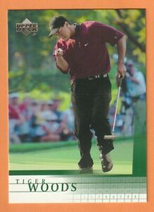2001 Upper Deck #1 Tiger Woods RC Rookie Card