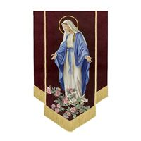 Church Banner Christmas Banner Nativity Banner Our Lady of Grace Banner F4546