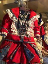 Robe pour poupée porcelaine ancienne Jumeau Bru Steiner