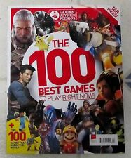 GOLDEN JOYSTICK Presents 100 BEST GAMES To PLAY Right Now 148 Pages MARIO Guide