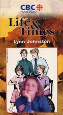life & times  LYNN JOHNSTON   for better or for worse  VHS VIDEOTAPE