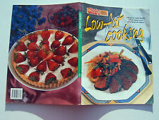 Low Fat Cooking Australian Womens Weekly 128 pages vgc Large Paperpack