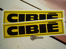 CIBIE Race Car STICKERS 8 inch Pair Renault 5 Turbo Rallye Alpine Racing Rally