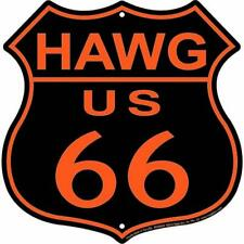Embossed Signage - Route 66 HAWG  Shield Sign