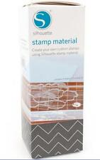 SILHOUETTE - Stamp Material - 3 sheets of 6 in. x 7.5 in. stamp material