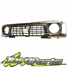 GRILLE SUIT GQ PATROL NISSAN 94-97 SERIES 2 Y60 CHROME GRILL 4WD