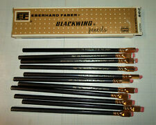 BOX OF VINTAGE & UNUSUAL EBERHARD FABER BLACKWING PENCILS - NEW