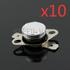 10 pcs Temperature Switch Control Sensor Thermal Thermostat 100°C N.C. KSD301