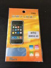 2 X plástico claro Protector de pantalla para HTC DESIRE HD/ACE