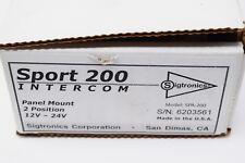 Sport 200 Intercom Panel Mount 2 Position #Spa-200