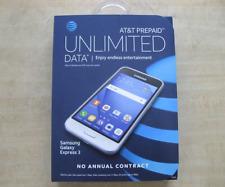 New Samsung Galaxy Express 3 ATT UNLOCKED 4G LTE SM-J120A White Android 6.0