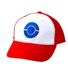 Pokemon Go Trainer Anime Cosplay Baseball Cap Unisex Ash Ketchum Hat Decoration