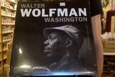 Walter Wolfman Washington My Future Is My Past LP sealed vinyl