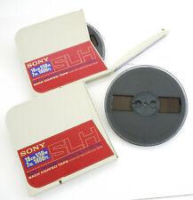 2x Sony SLH-7-550-BL Master Enregistrement Bande Plastik-Spule + 550m Ovp 66