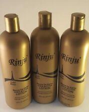 Rinju Gold Beurre De Karite Shea Butter Lotion 16 Oz - Pack of 3 bottle -