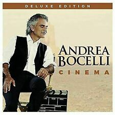 ANDREA BOCELLI - Cinema [Deluxe Edition] (CD) - NEW! AWESOME! Take a L@@K!