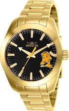 Invicta 25163 Character Collection Men's 42mm Gold-Tone Steel Black Dial Watch