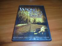 Wrong Turn 2: Dead End (DVD, 2009, Widescreen; Unrated) Henry Rollins Used