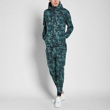 Nike Tech Fleece Camo Windrunner Hasta & Black - Size M(835866 392)