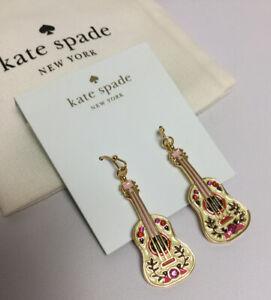Kate spade New York guitar drop earrings New