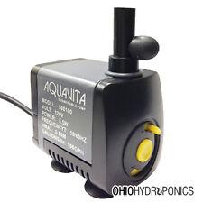 AquaVita 100 gph Water Pump hydroponics aquaponics
