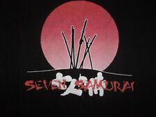 Seven Samurai Japanese Movie Classic T Shirt Adult Mens Size Small