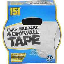 Plasterboard and Drywall Tape 20m 151 Adhesives - TT1021
