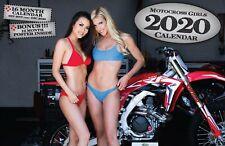2020 MX Girls DELUXE WALL CALENDAR Motocross Dirt Bike Pin Up Girls