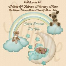 ~SWEET DREAMS REBORN BABY AUCTION TEMPLATE WITH FREE LOGO~~DOUA