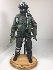 "1/6 DRAGON US NAVY F-14 ""TOP GUN"" MODERN FIGHTER PILOT W/BASE DID BBI RC 21"