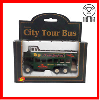 Superior City Tour Bus Ocean Seafood Diecast SS5855W Model Toy Vintage