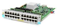 NEW HPE Expansion Module J9986A Gigabit Ethernet (PoE+) x 24 for Aruba 5406R zl2
