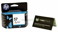 HP 57 Tri-Color Ink Cartridge C6657AN Genuine New