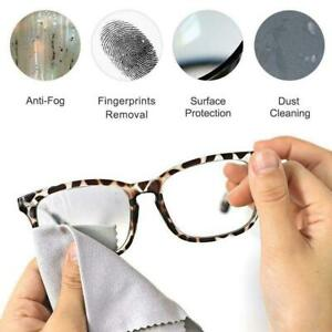 Anti Fog Glasses Lens Fabric Cleaning Sea-island Cloth Wipe Fog-Free Living U3J5
