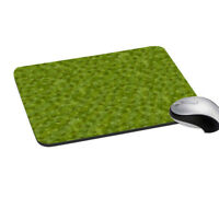 Mouse Pad Flies Print Mouse Pad Green Mouse Non-Slip Pad for Office, Home