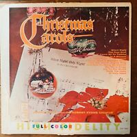 JOHNNY COLE CHRISTMAS CAROLS VINYL LP CROWN RECORDS CLP 5081  VG COND