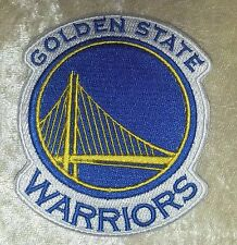 "Golden State Warriors 3.75"" Iron On Embroidered Patch~USA Seller~FREE Ship"