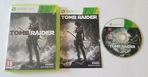 TOMB RAIDER XBOX 360 GAME ACTION ADVENTURE RPG ROLE PLAYING SQUARE ENIX GAME