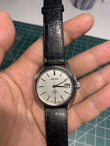 Vintage King Seiko 4502-7010 Hi-Beat Manual Winding Men Watch, Serviced 2020