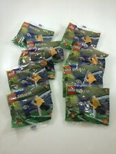 Lego System Lot Of 10 Shell Promotional Soccer Figures 1998 Rare