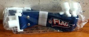 "NFL Flag Football Belt Socket Popper Flags 48"" L BLUE NEW FREE SHIPPING"