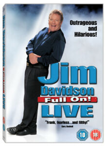 Jim Davidson: Full On - Live DVD (2005) Jim Davidson cert 18 Fast and FREE P & P