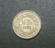 Switzerland 1956, 1/2 Franc