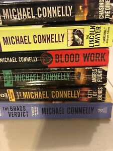 Lot Of 6 Michael Connelly Novels Harry Bosch Detective Series PAperback