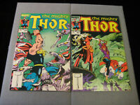 Thor #346 and #347 (Marvel, 1984)