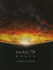 Halo: Reach Legendary Edition Guide (2010, BradyGames) Hardcover.    **
