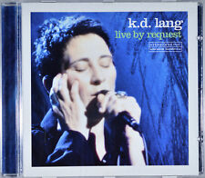 Live by Request by K.D. Lang [Canada - Warner Music W2 48108 - 2001] - NM/M